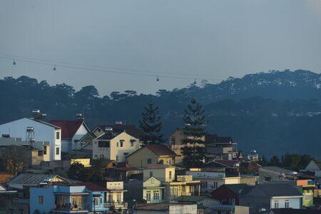 lat: Vietnamese city of Da Lat, Editorial image. February 2, 2016
