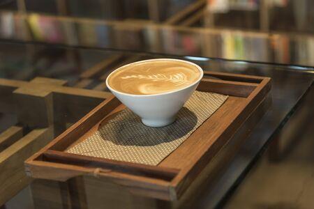 cappucino: coffee latte art
