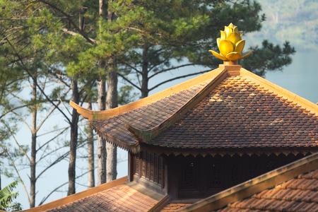 da: Truc Lam Zen Monastery - Da Lat, Vietnam