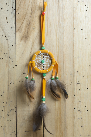dreamcatcher: orange dreamcatcher