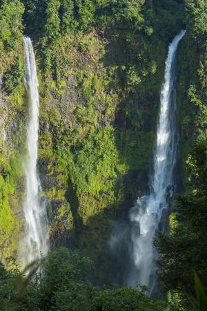 hight: hight waterfalls in Laos Stock Photo