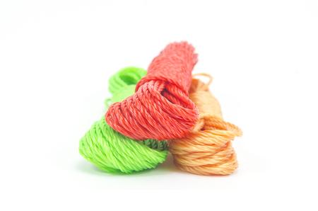 cordage: rope isolated on white background Stock Photo