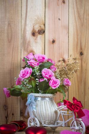 vintage rose flower for use