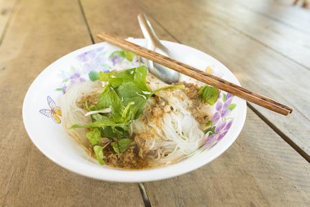 Laos noodle 版權商用圖片