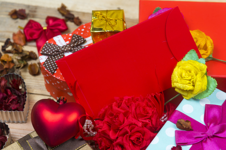 Artwork for use on Valentines Day Stock Photo