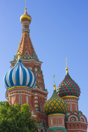 St. Basils Cathedral, Moscow,Russia, Red square