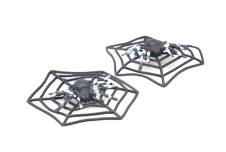 Spider fakes for use in Halloween.