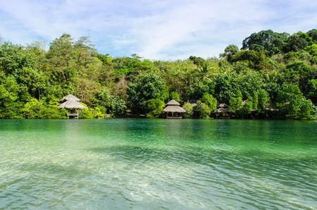 Tropical beautiful beach on the island Koh Kood, Thailand photo