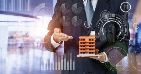 Inspection of Building Concept. Real estate developer. Earthquake Resistance construction.