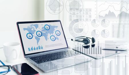 Business statistics concept. Marketing. Business strategy. Stok Fotoğraf