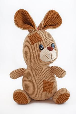 plush: Plush rabbit Stock Photo
