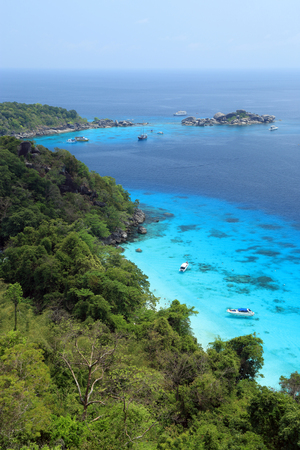 similan islands: Top view of Similan Islands