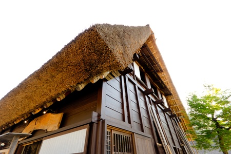 Traditional Japanese house Stock Photo