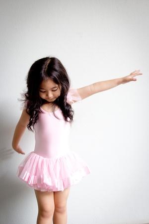 Little ballerina Stock Photo - 19984782