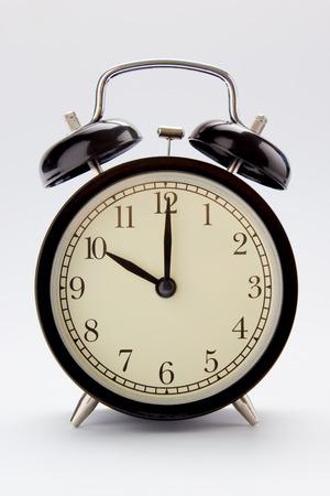 Classic alarm clock at 10 O clock Imagens