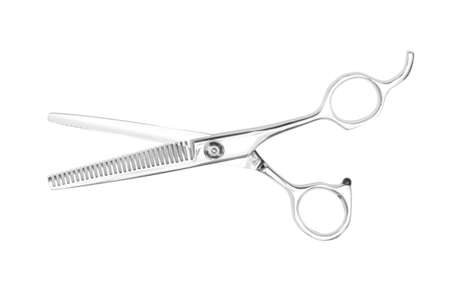 barber scissors isolated on white background5 photo