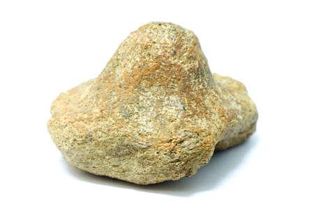 resemble: strange stone resemble mountain isolated on white background