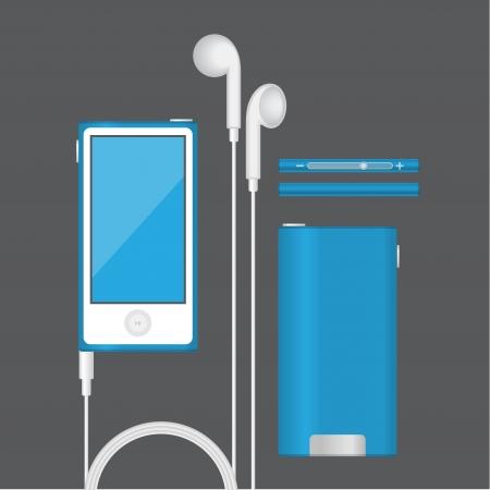 agenda electr�nica: Vector ipod icono pda