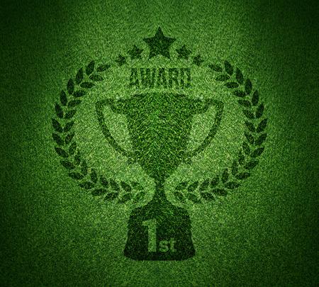 Green Grass, Auszeichnung, Fußball-Hintergrund