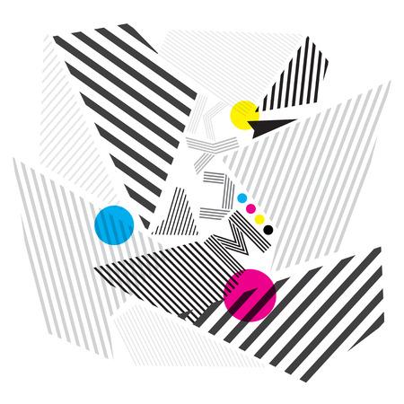 cmyk achtergrond, afdrukken kleur