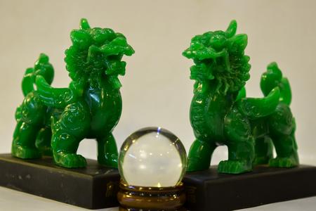 Pi xiu green color