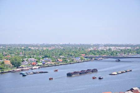 water transportation: Water Transportation in bangkok Stock Photo