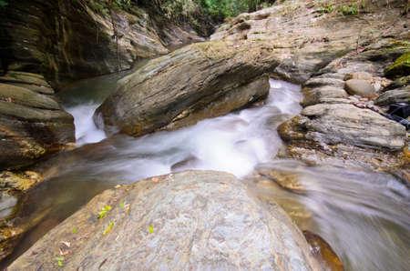 wang: Water fall Wang Sila laeng, Grand Canyon Wang Sila laeng, Pua District, Nan, Thailand