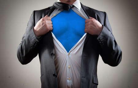 super hero: Businessman