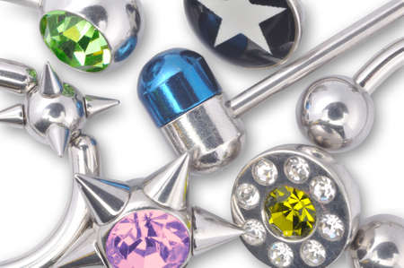 piercing: Many jewelry for piercing