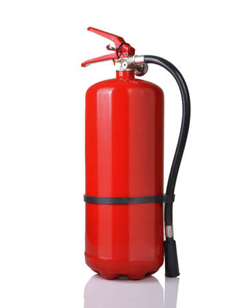 fire alarm: fire extinguisher  Stock Photo