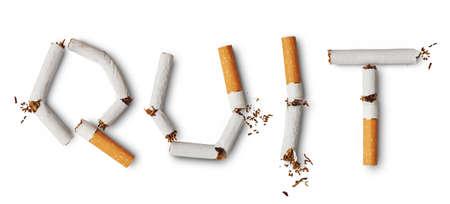 no fumar: Dejar de fumar
