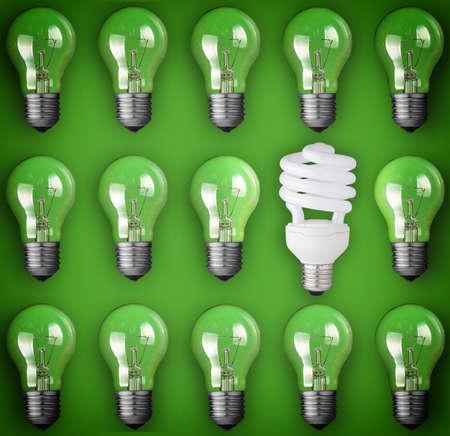 Idea concept light bulb Archivio Fotografico