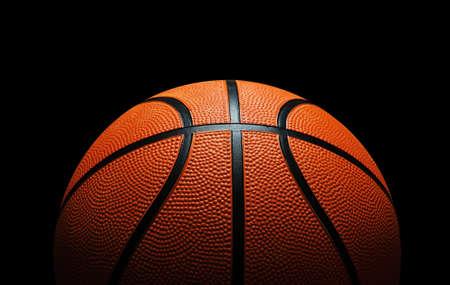 canestro basket: Basket contro il nero Archivio Fotografico