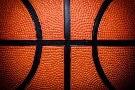 international basketball: Orange Basketball close up photos Stock Photo