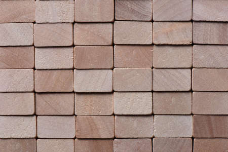 Wooden blocks abstract background Stock Photo