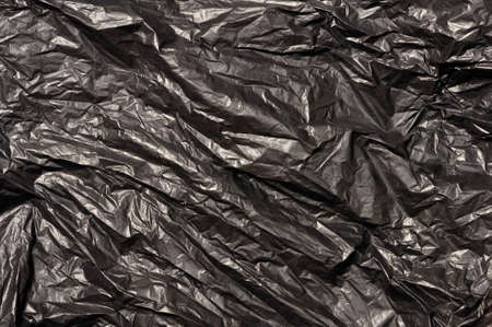 black trash bag plastic texture
