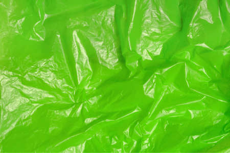 green trash bag plastic texture