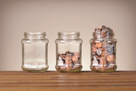 secure: jars with different level of coins