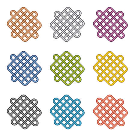 tubing: Seamless color tubing pattern