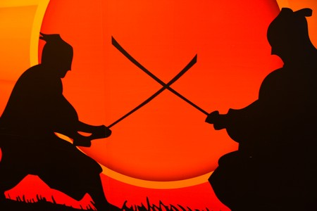 arts symbols: samurai