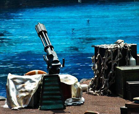 machine gun photo