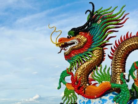 shanghai china: dragon