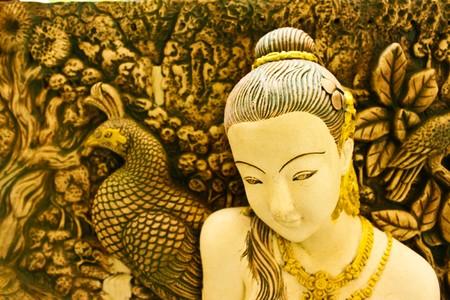 fertility goddess: thai statue