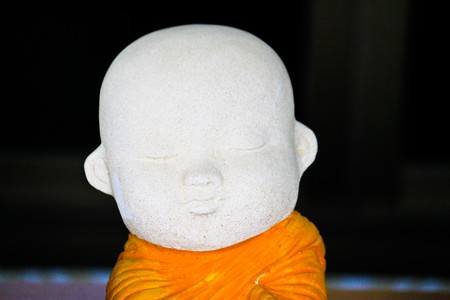 monk sculpture Stock Photo - 7453466