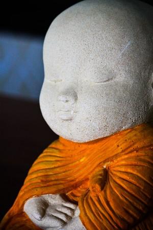 monk sculpture Stock Photo - 7453576