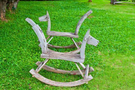 sorrel: horse chair Stock Photo