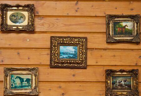 log wall: log wall decorate