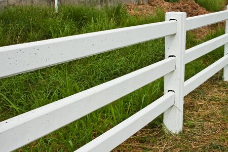fence in a farm photo