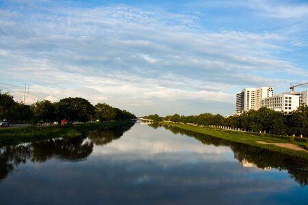 urban river Stock Photo - 8237259