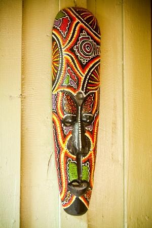 wood mask photo